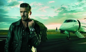 David Beckham, Breitling Transocean Chronograph Unitime