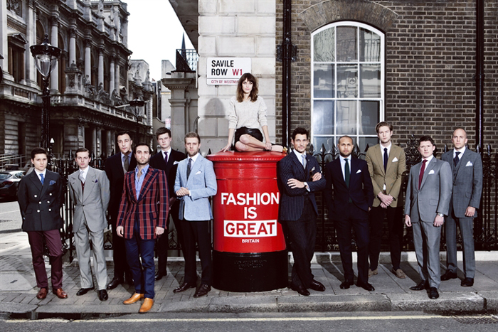 London Collections, photo c/o British Fashion Council