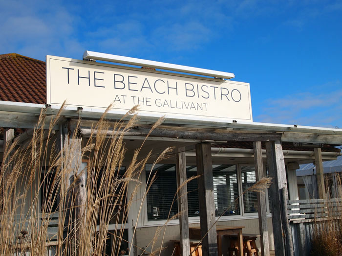 Beach bistro, The Gallivant, Rye