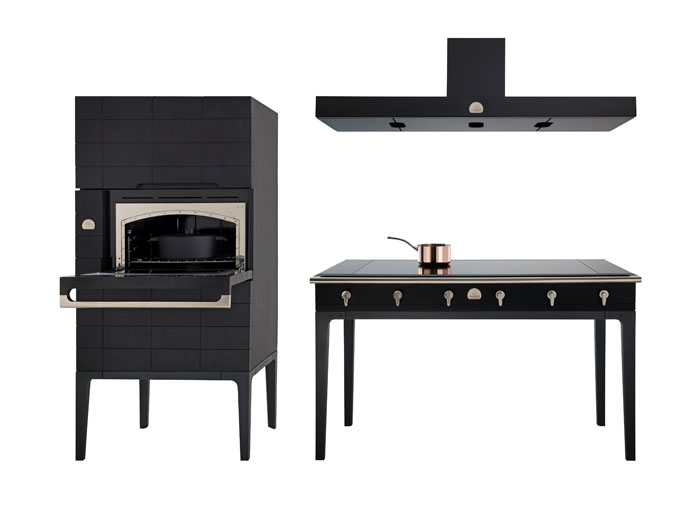 la cornue reveals first collection for 30 years life in. Black Bedroom Furniture Sets. Home Design Ideas