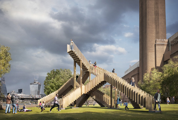 Endless Stair designed by dRMM for London Design Festival 2013