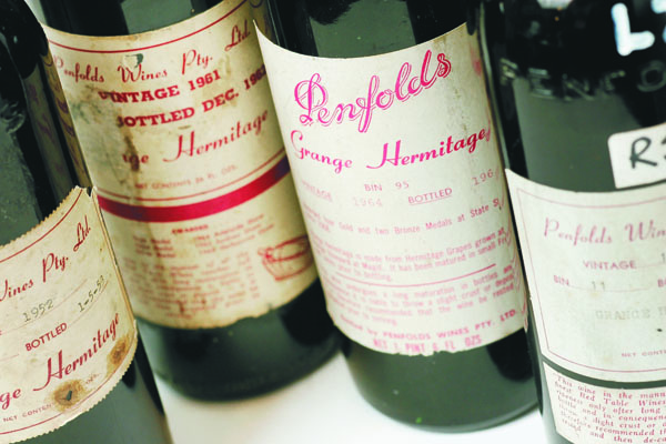 Penfolds Vintages
