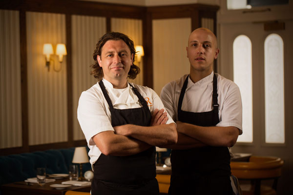 Shaun Rankin (Proprietor, Ormer Restaurant) and Lee Smith (Head Chef)