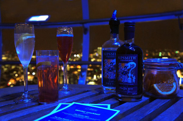 Sipsmiths on London Eye