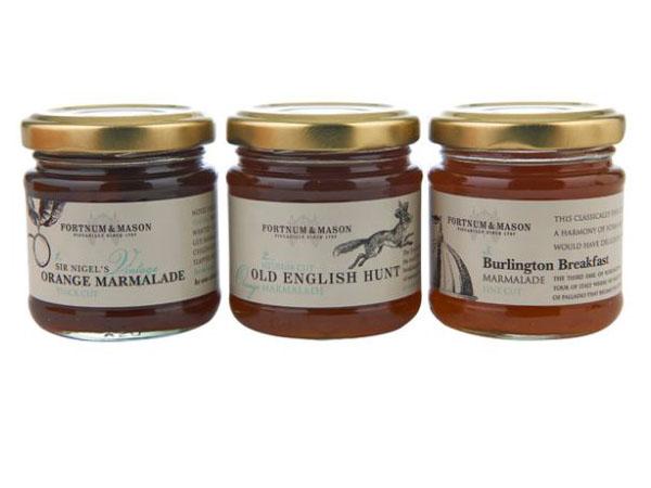 Fortnum & Mason Marmalade trio