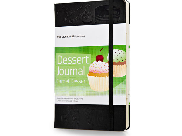 Moleskine dessert journal