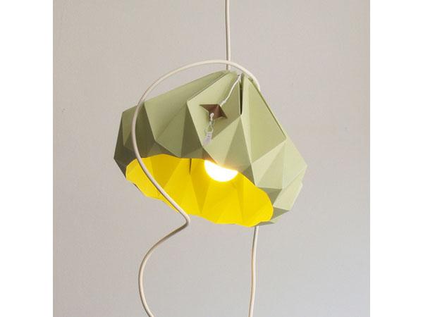 Cachette origami lamp