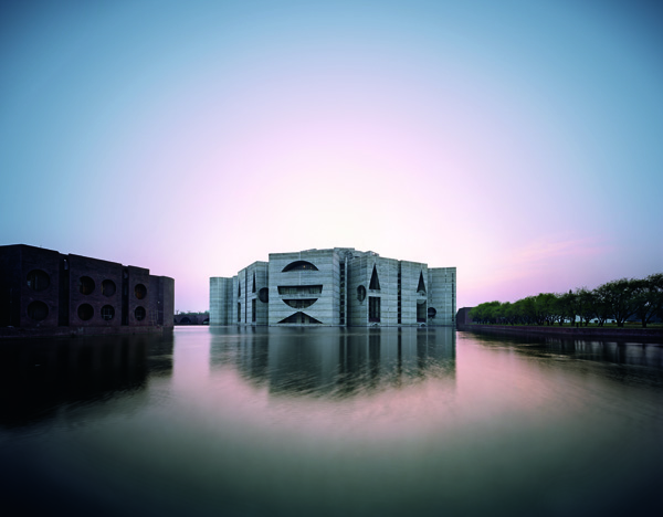 National Assembly Building in Dhaka, Bangladesh, Louis Kahn, 1962–83 © Raymond Meier