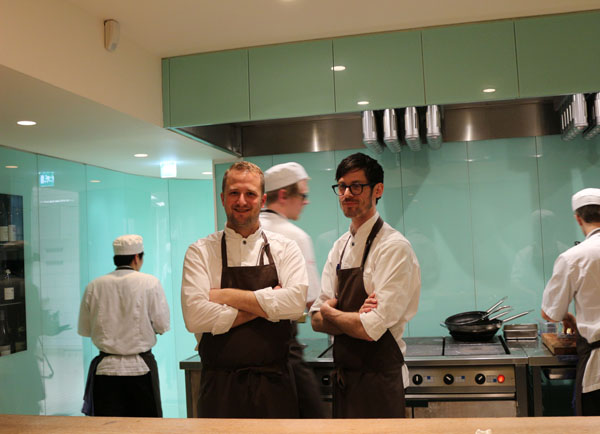 Jacob Holmstrom and Anton Bjuhr at Gastrologik