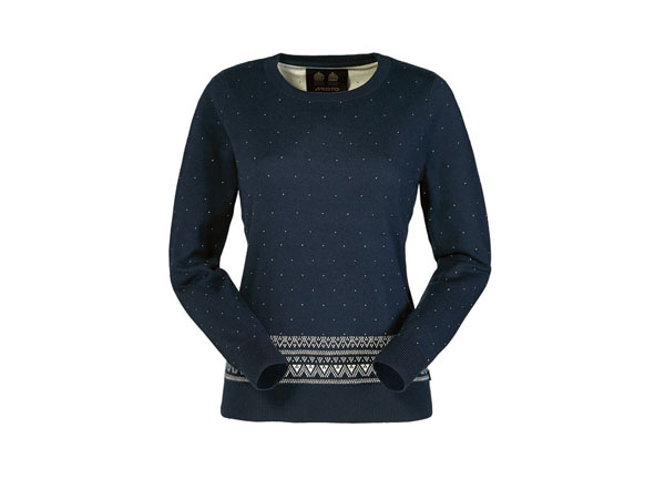 Amundsen fair isle knit jumper from Musto