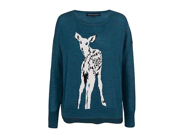 Doe deer jumper from French Connection