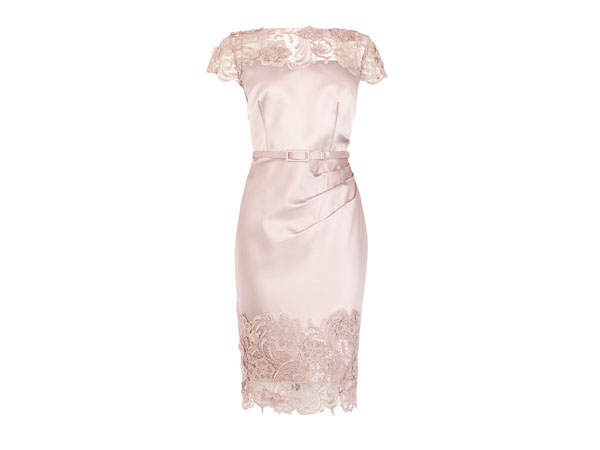 Luma duchess satin dress from Coast