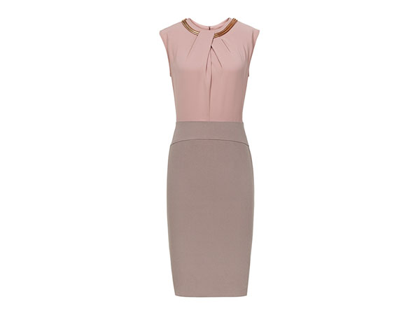 Rio two-tone dress from Reiss