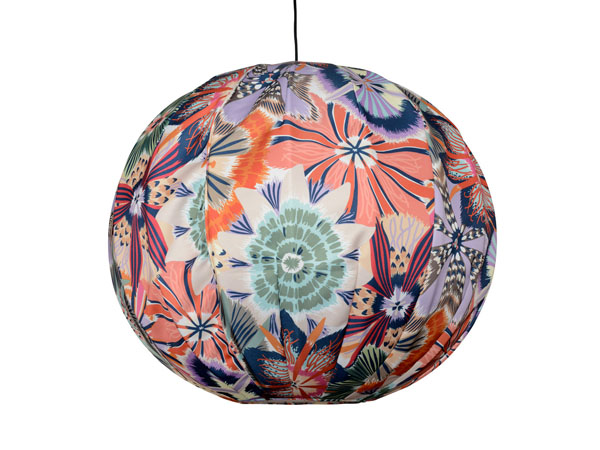 Bubble lampshade from Missoni Home
