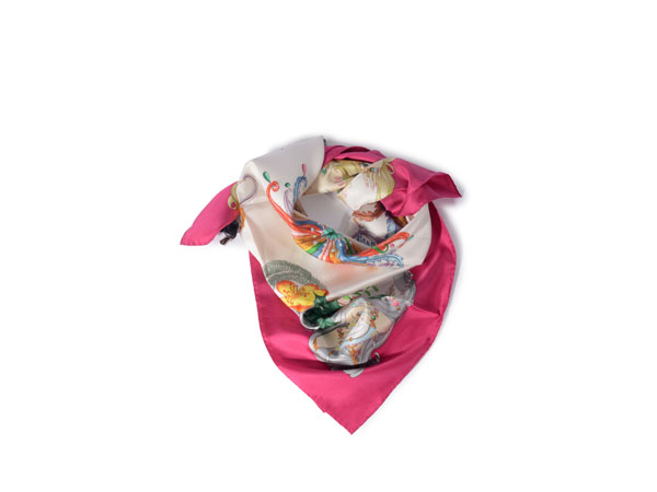 Four seasons print scarf from Gucci