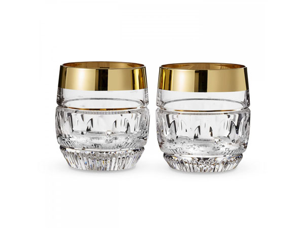 Mad Men Olson double old fashioned tumblers from Waterford