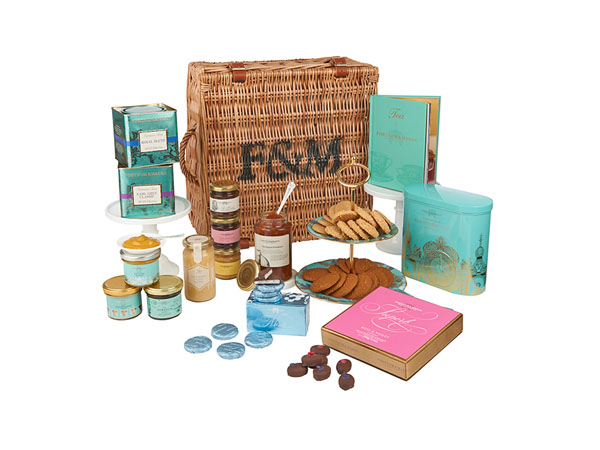 The English Essentials hamper from Fortnum & Mason