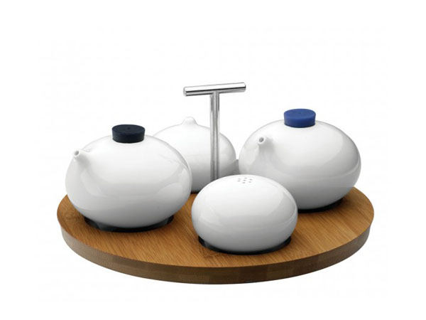 Tripod condiment set from Loveramics