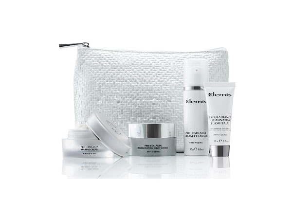 Winter radiance gift set from Elemis