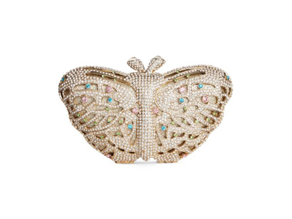 Jewelled butterfly minaudiere from Sasha