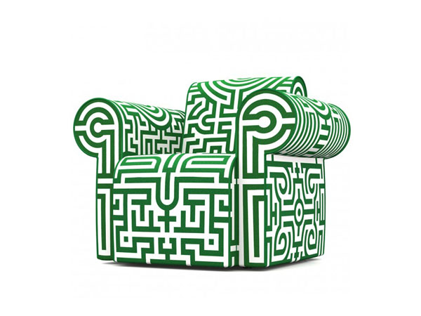 Labyrinth armchair from Moooi