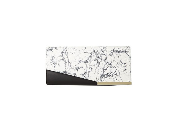 Marble print clutch bag from Pied a Terre