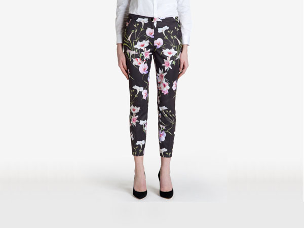 Onixt mirror tropics trousers from Ted Baker