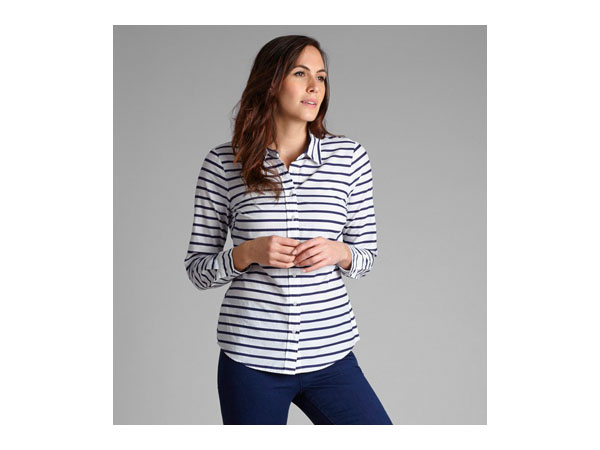 Cotton stripe shirt from Laura Ashley
