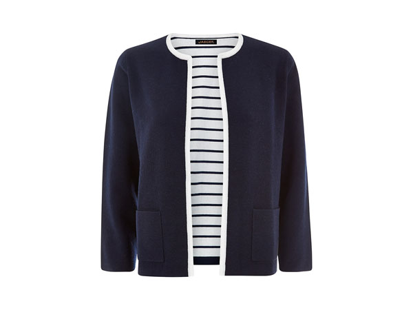 Double face knit jacket from Jaeger