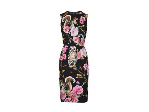 Forest pencil dress from Dolce and Gabbana