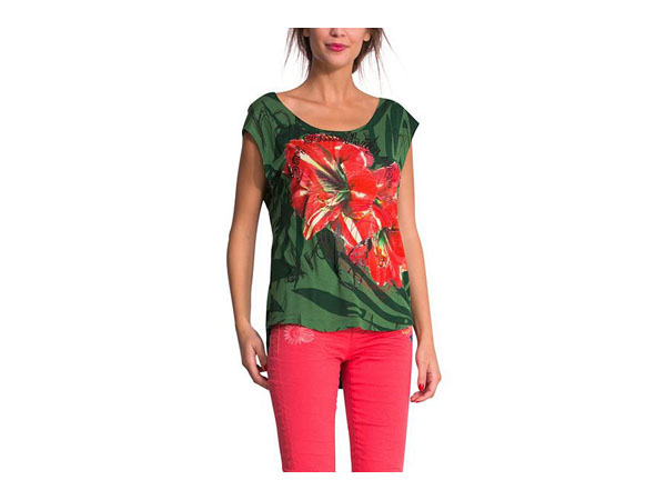 Maria printed t-shirt from Desigual