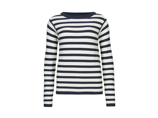 Striped jumper with wool from Autograph by Marks & Spencer