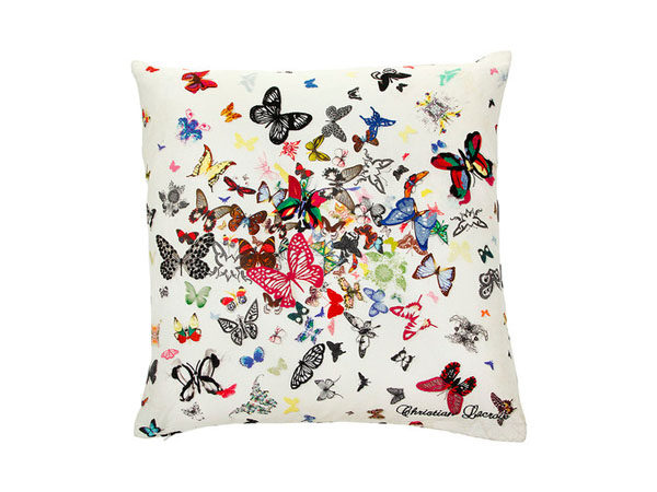 Butterfly Parade cushion from Christian Lacroix