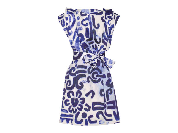Card printed cotton-poplin dress from Vivienne Westwood Anglomania