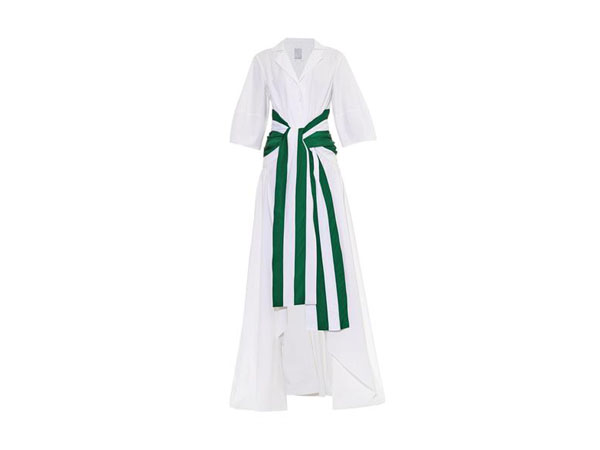 Cotton poplin shirt dress from Rosie Assoulin
