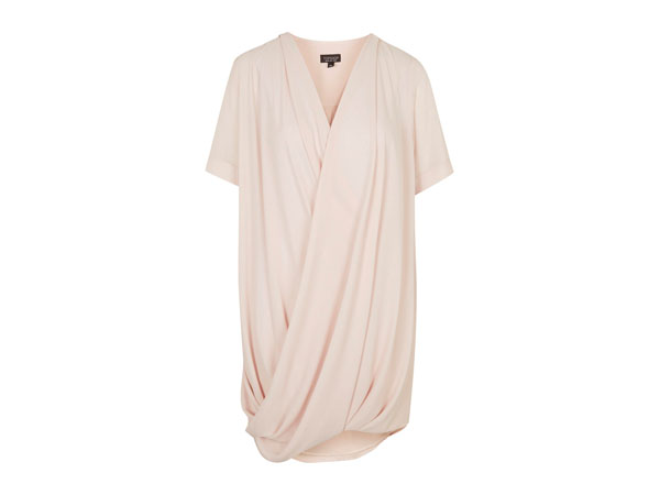 Drape tunic dress from Topshop