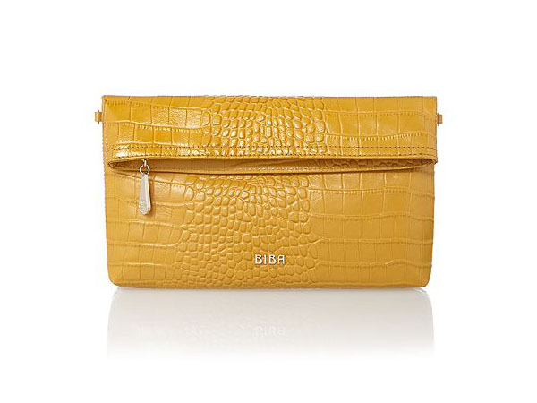 Ferrara foldover clutch bag from Biba