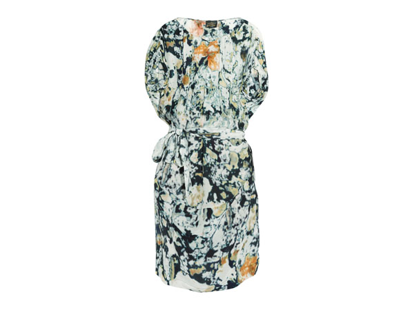 Garland printed crepe de chine dress from Vivienne Westwood Anglomania