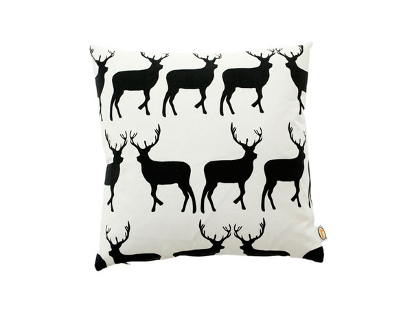 Kissing stags cushion from Anorak