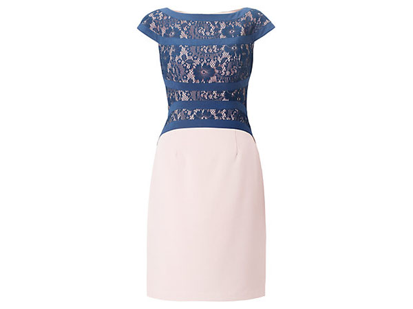 Lace and bandage sheath dress from Adrianna Papell