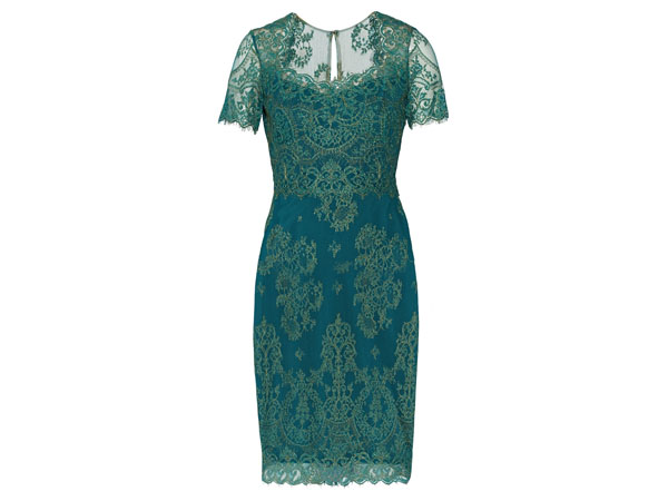 Lace cocktail mini dress from Notte by Marchesa