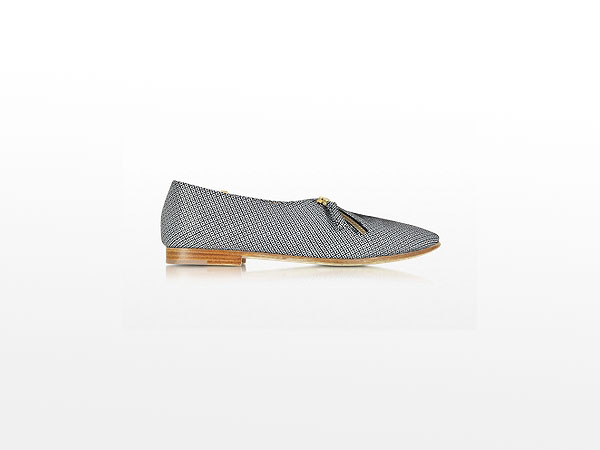 Lafayette black suede loafers from Zoe Lee