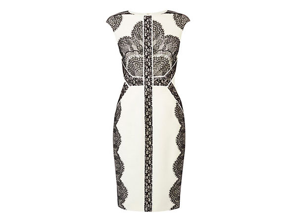 Placed lace dress from Karen Millen