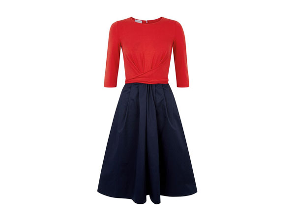 Red Jessica dress from Hobbs