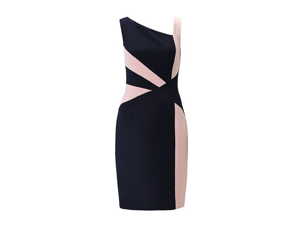 Sleeveless abstract shift dress from Adrianna Papell