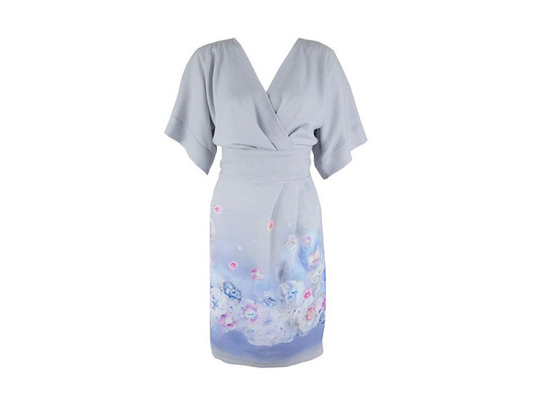 Floral kimono dress from Almari