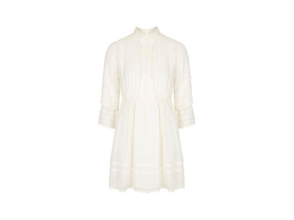 High neck Victoriana dress from Topshop