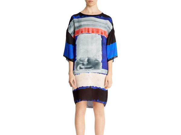 Kimono waterblock print dress from Nicole Farhi