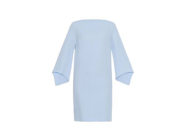Moon child silk-cady dress from Osman