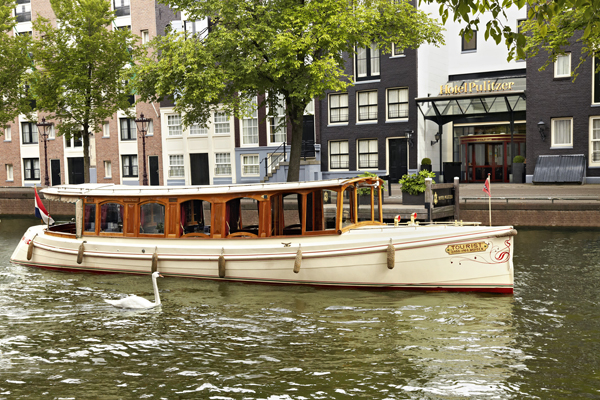 Pulitzer Hotel Amsterdam Boat